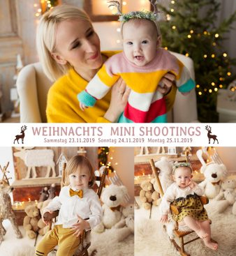 WEIHNACHTS MINI SHOOTINGS